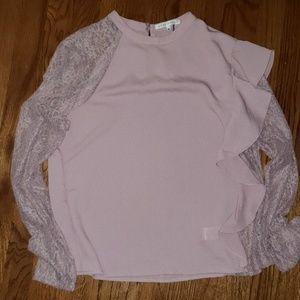 Blush pink top Size Medium